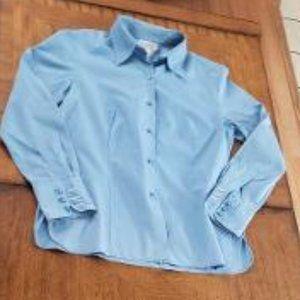 Talbots Baby Blue Dress Shirt